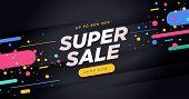 Black Friday Sale Banner. Social Media Vector Illustration Template For Website And Mobile Website D poster