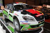 Skoda Fabia Super 2000 Rally Car