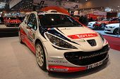 Essen - Nov 29: Peugeot 207 Super 2000