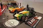 Essen nov 29: Lotus Seven Sportsca