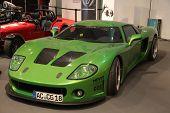 Essen nov 29: grünen Sportwagen