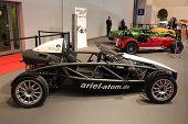 Essen - Nov 29: Ariel Atom Sportwagen