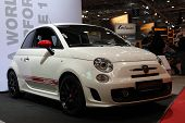 Essen - 29 de Nov: Fiat 500 Abarth