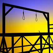 picture of gallows  - Gallows - JPG
