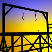 foto of gallows  - Gallows - JPG