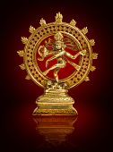 stock photo of vedic  - Shiva Nataraja design - JPG