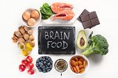 Healthy Food For Brain And Memory poster