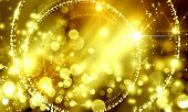 Abstract, Background, Spot, Blurred, Bokeh, Bright, Holiday, Christmas, Beautiful, Frame,  Color, De poster