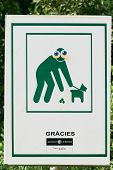 Sign Clean Up After Your Pet