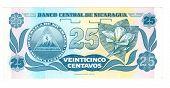 Bill 25 centavo da Nicarágua