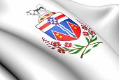 Yukon Coat Of Arms, Canada.