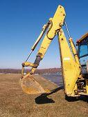 Back Hoe Construction Equipment