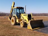 Front End Loader Construction Equipment