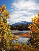 Autumn Rocky Mountain Landscape