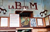 HAVANA-JANUARY 30: La Bodeguita del Medio January 30,2011 in Havana.The birthplace of mojito, this i