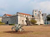 Castillo histórico conocido como La Fuerza en la Habana Vieja, ahora se utiliza como un Museo