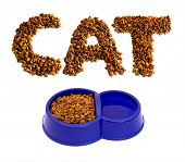 From a dry feed for cats it is possible to spread figures