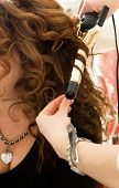 Hair Curling Demonstration