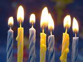 Geburtstagskerzen