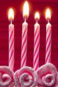 Постер, плакат: день рождения свечи