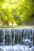 An image of the nice waterfall at the P�?�¤hler Schlucht in Bavaria Germany