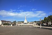The grand memorial and religious complex in the small Portuguese town of Fatima. One hundred years a
