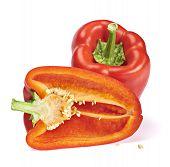 Fresh sweet pepper
