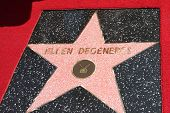 LOS ANGELES - SEP 4:  Ellen DeGeneres Star at the Hollywood Walk of Fame Ceremony for Ellen Degenere
