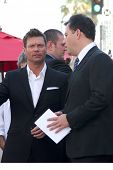LOS ANGELES - SEP 4:  Ryan Seacrest, Jimmy Kimmel at the Hollywood Walk of Fame Ceremony for Ellen D