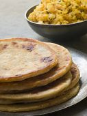 Aloo Stuffed Parathas
