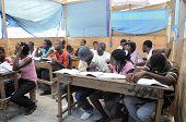 Schule in cite Soleil Haiti.