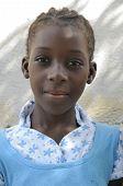 Adolescente haitiano.