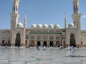 Outside View Of The Prophet's Mosque, Madinah - Saudi Arabia