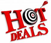 Hot Deals Red Logo