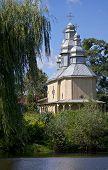 Wooden Church In An Outdoor