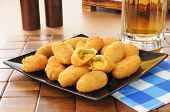 Jalapeno And Cheddar Cheese Poppers