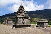 picture of arjuna  - Arjuna complex on Dieng plateau Java Indonesia - JPG