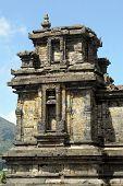 image of arjuna  - Temple in Arjuna complex on plateau Dieng Java - JPG
