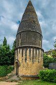 Lanterne des morts in the beautiful city of sarlat dordogne perigord France