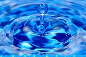 Blue Water Drop