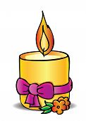 Candle And Bow