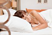 stock photo of have sweet dreams  - Sweet dreams - JPG