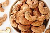 Cashew Nuts Burned