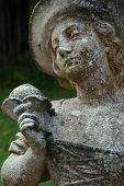 Weathered Statue