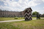 Concentration Camp In Nis, Serbia