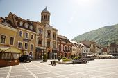 City Center Of Brasov, Romania