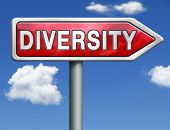 Diversity towards diversification in culture ethnic social age gender genetics political issues red