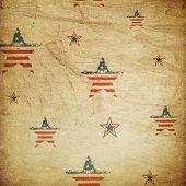 American patriotic ornament
