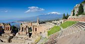 Ruins Of The Greek Theater, Taormina