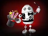 Robot goochelaar